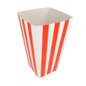 Cutie popcorn, carton rosu, 3L (100buc) Produse 146,20lei