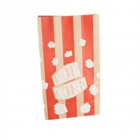 Punga popcorn, hartie rosie, 2.5L (500buc) Produse 338,01lei