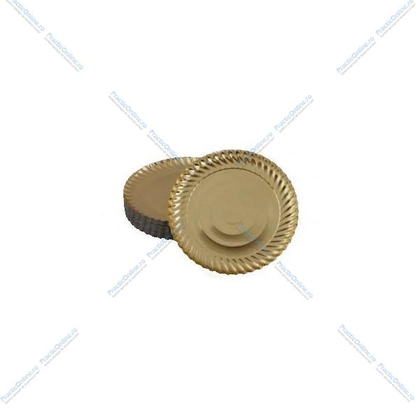 Tavite aurii 26cm (100buc) Produse 145,56lei