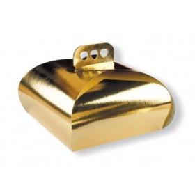 Cutii carton aurii 21cm (25buc) Cutii aurii 61,47RON