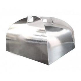 Cutii carton argintii 31x38cm (25buc) Produse 136,77RON