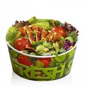 Caserole cu capac salata 1000cc (300buc)