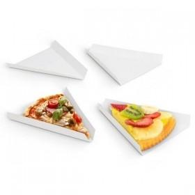Triunghi de pizza alb 32cm (600 buc)