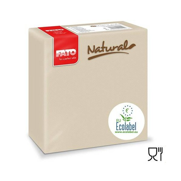Servetele FATO natural 38*38cm (40buc)
