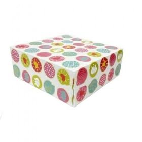 Cutii carton colorate 17x20.7x9cm (50buc) Cutii prajituri 142,49RON