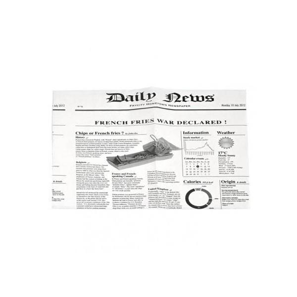 Hartie ziar 34*28cm (1000buc) Ambalaje shaorma 203,17lei