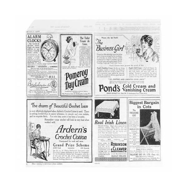 Coltar din hartie, design ziar, 13x14cm (1000buc) Produse 196,81lei