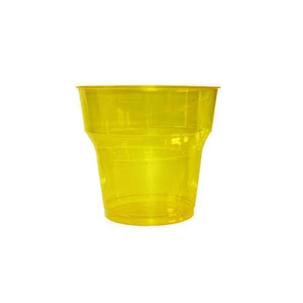 Pahar cristal portocaliu 180ml (25buc) Produse 5,78lei