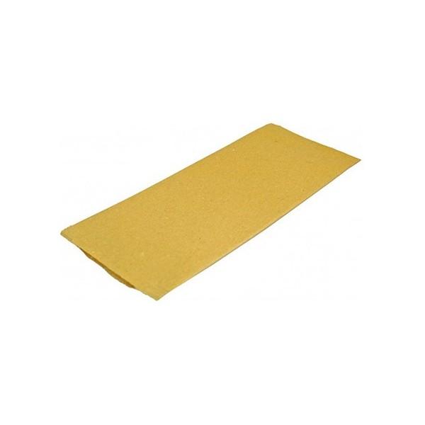 Port tacamuri din hartie kraft 25*10cm, cu servetel alb 38x38cm (700buc) Produse 464,92lei