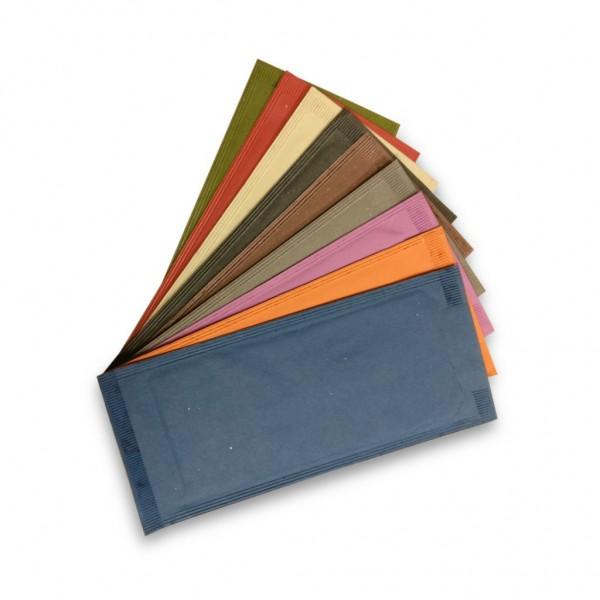 Port tacamuri din hartie alba 25*10cm, cu servetel alb 38x38cm (1000buc) Port tacam 396,80RON