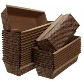 Tavi copt prajituri, 25x7,5x h2.5 cm (400buc) Forme dreptunghiulare 403,21RON