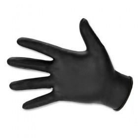 Manusi nitril, nepudrate, negre, marime XL (100buc) Produse 39,18lei