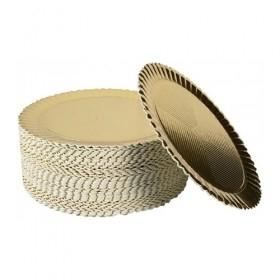 Discuri Girasole aurii 24cm (50buc) Discuri Girasole 81,45lei