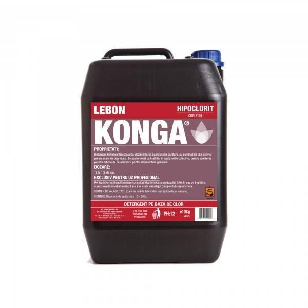 Konga Clor parfumat 10 L Produse 46,09RON