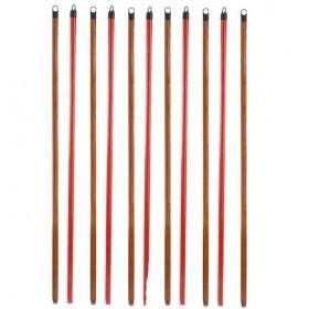Coada lemn de esenta tare cu PVC, 120cm*2.2cm, filet universal (50buc) Matura|Mop|Faras 75,99lei