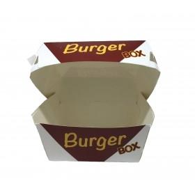Cutii de burger, carton personalizat, 18x18x8cm (50buc) Produse 40,39lei