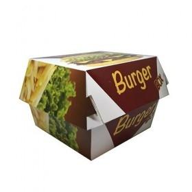 Cutii de burger, carton personalizat, 12x12x8cm (100buc) Produse 55,76lei