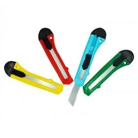 Cuttere cu maner din plastic, colorate (20buc) Produse 49,33lei