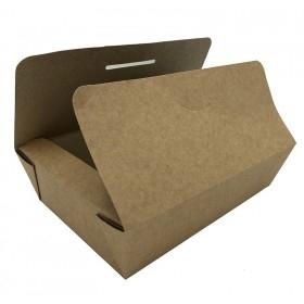 Cutie carton kraft, Take-Away mediu, 18*11.5*5cm (100buc) Cutii take-away 88,20lei