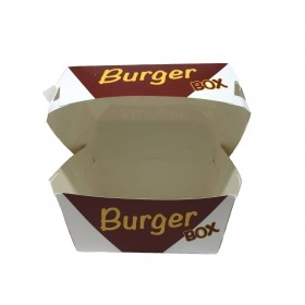 Cutii de burger, carton personalizat, 18x18x8cm (450buc) Produse 337,49lei