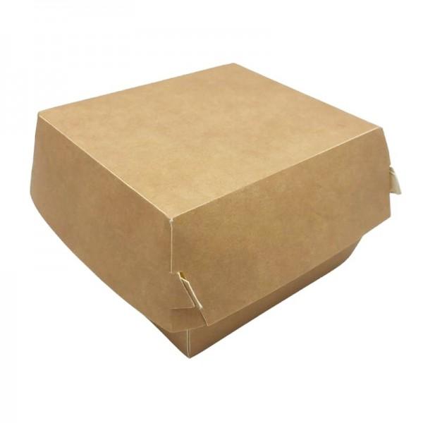 Cutii de burger, carton natur, 18x18x8cm (100buc) Produse 80,77lei